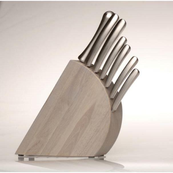 bloc couteaux 8 pi ces concavo achat vente couteau de cuisine cdiscount. Black Bedroom Furniture Sets. Home Design Ideas