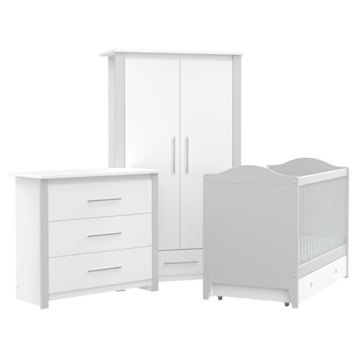 chambre b b cocoon gris perle direct usine made in. Black Bedroom Furniture Sets. Home Design Ideas