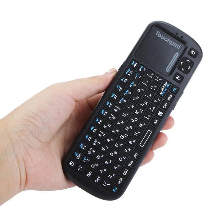 ipazzport russe version mini 2 4 g sans fil clavier souris touchpad clavier ordinateur de poche. Black Bedroom Furniture Sets. Home Design Ideas