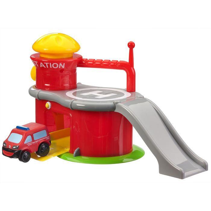 caserne de pompiers 1 voiture achat vente voiture camion caserne de pompiers 1 voitur. Black Bedroom Furniture Sets. Home Design Ideas