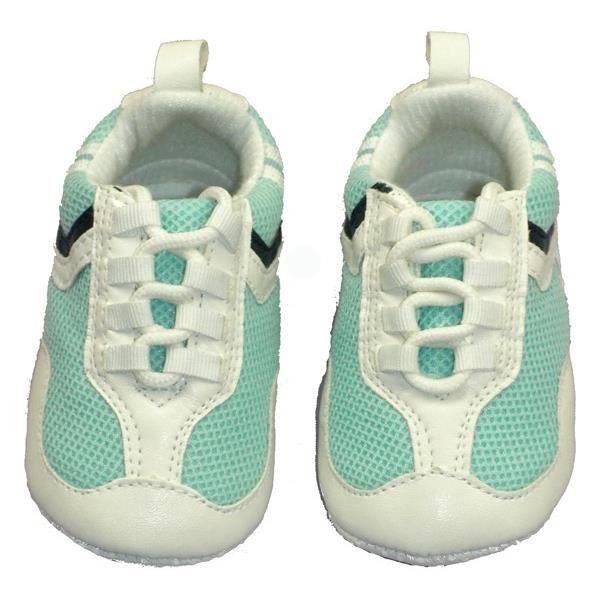 baskets b b gar on bleu turquoise bleu bleu achat vente basket cdiscount. Black Bedroom Furniture Sets. Home Design Ideas