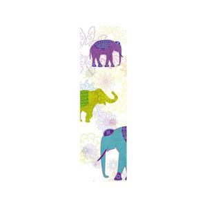 TABLEAU - TOILE Toile décorative extérieure Elephant 0,60 x 3m