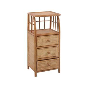 commode rotin achat vente commode rotin pas cher cdiscount. Black Bedroom Furniture Sets. Home Design Ideas