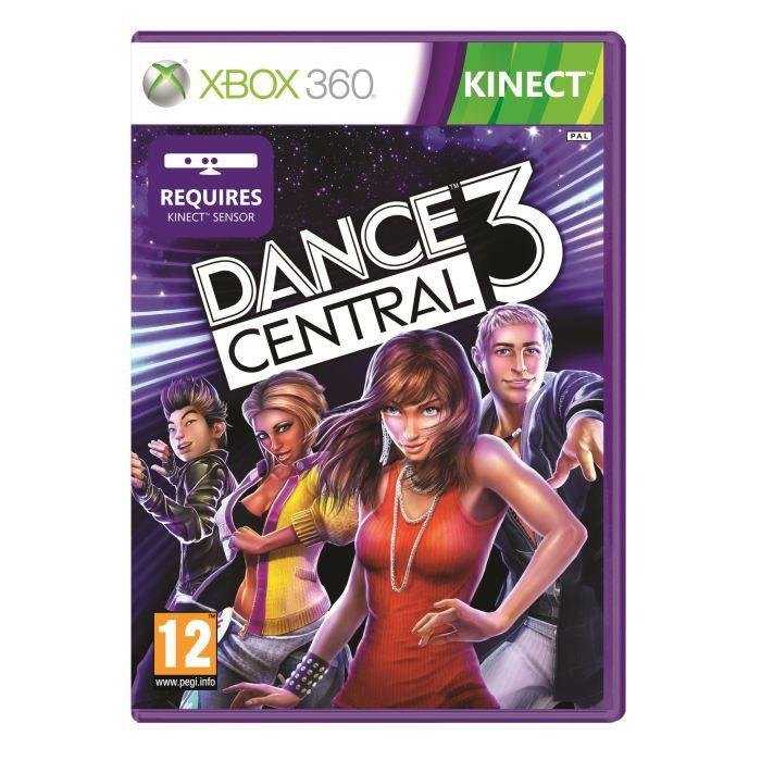 JEUX XBOX 360 Dance Central 3 Jeu Xbox 360