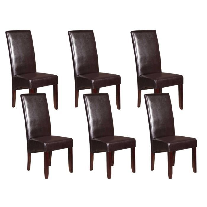 lot 6 chaises. Black Bedroom Furniture Sets. Home Design Ideas