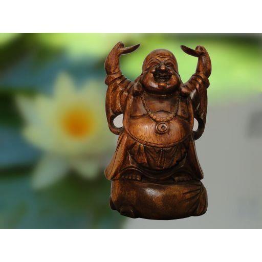 Gros bouddha chinois de la sante en bois a achat for Vente bois flotte gros