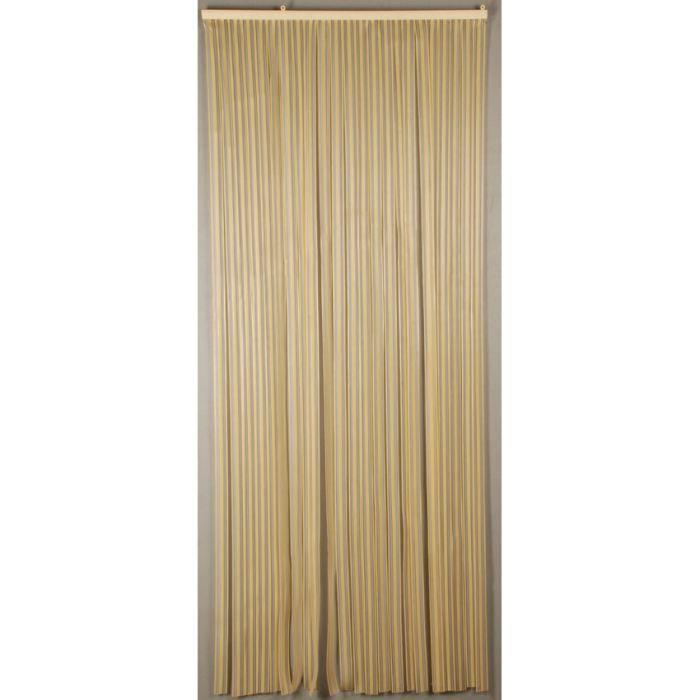 Rideaux de porte d coratif lumina achat vente rideau for Achat de porte