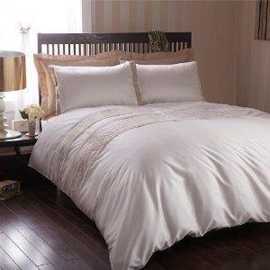 linge de lit parure de drap housse de couette 2 pe achat vente parure de drap cdiscount. Black Bedroom Furniture Sets. Home Design Ideas