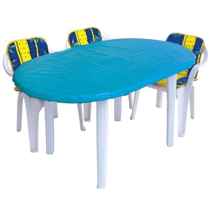 Housse Pour Plateau De Table Poly Thyl Ne Bleu 230x100cm Achat Vente Housse Meuble Jardin