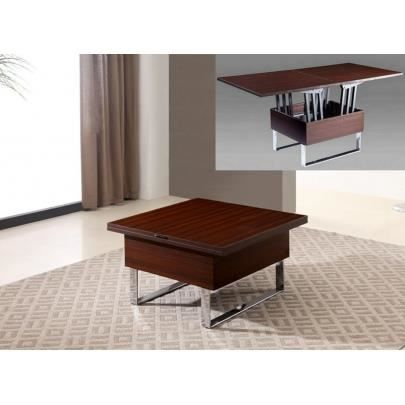 Table basse relevable 6 couverts - Menzzo table basse relevable extensible ...