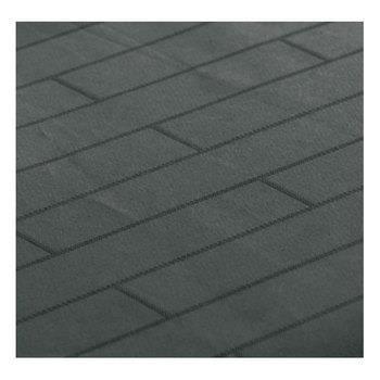 Lot de 12 serviettes de table bricks noir achat for Serviette de table noir