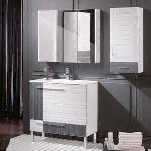 Armoire de salle de bain pas cher maison design for Armoire de toilette miroir pas cher
