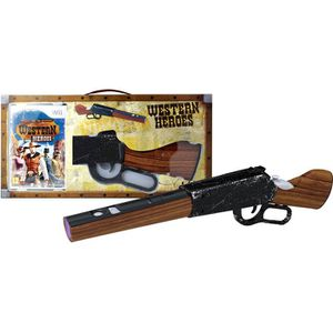 JEUX WII PACK WESTERN HEROES + WINCHESTER / Jeu console Wii