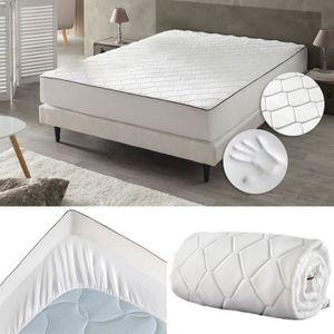 surmatelas memoire de forme 140x190 achat vente. Black Bedroom Furniture Sets. Home Design Ideas