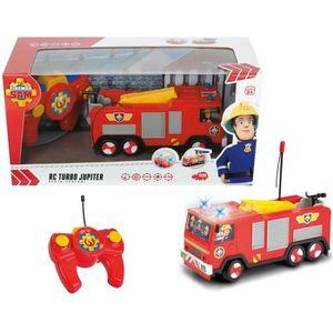 juniors r camion pompier telecommande