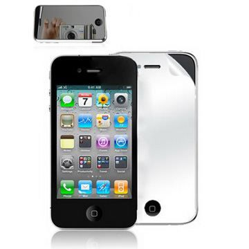 2 films cran iphone 5 1 miroir 1 classique achat film for Application miroir pour iphone
