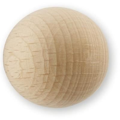 Bouton de meuble bois boule achat vente poign e for Boutons poignees de meubles