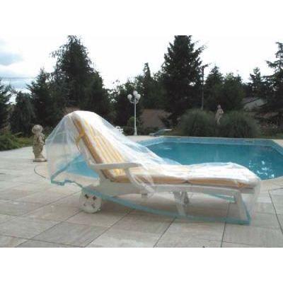 Housse de jardin plastique pour chaise longue achat vente housse meuble jardin housse de - Housse de chaise plastique ...