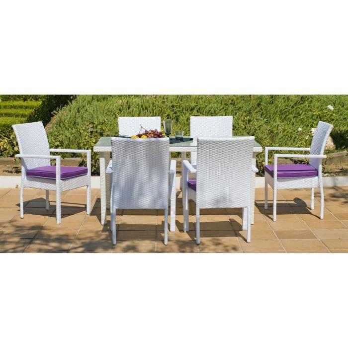 Set Emir 180 6 6c 6 Pl 6 Fauteuil S 1 Table