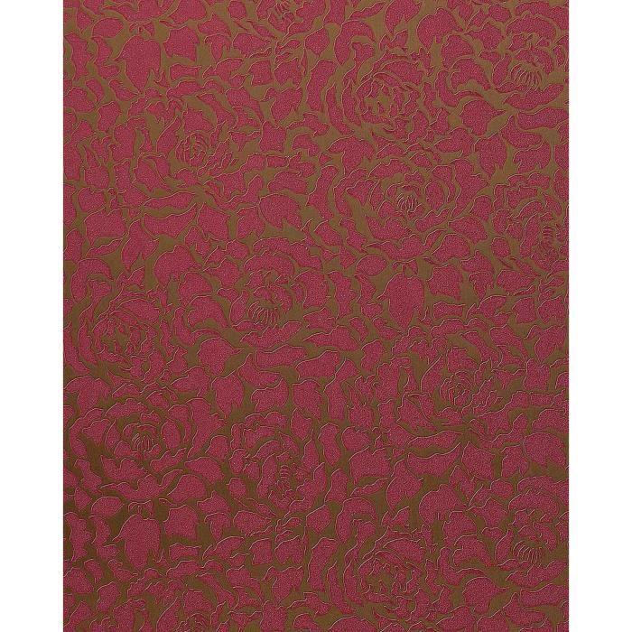 Papier peint deluxe pivoines fleurs edem 830 26 rose rouge - Achat papier peint ...