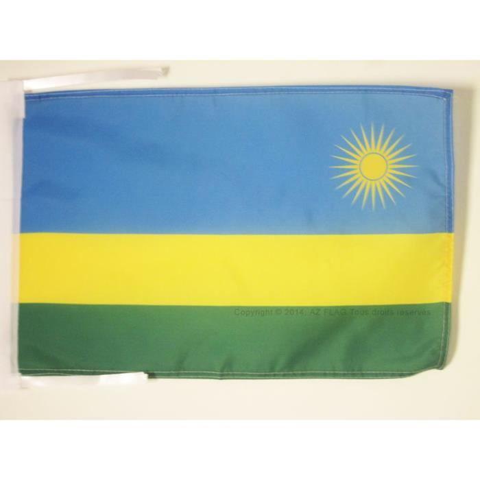 Drapeau rwanda 45x30cm rwandais haute qualit achat for Linge de maison haute qualite