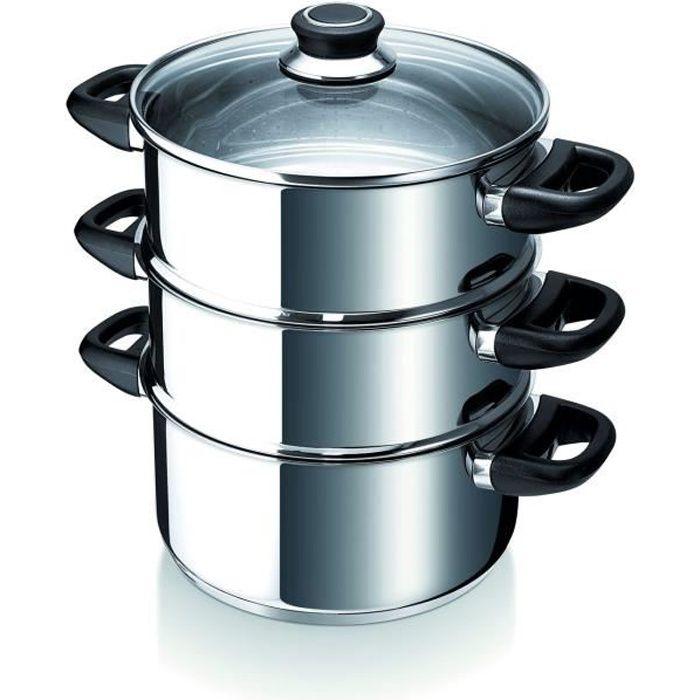 beka cuit vapeur polo 24 cm induction achat vente faitout marmite beka cuit vapeur polo 24