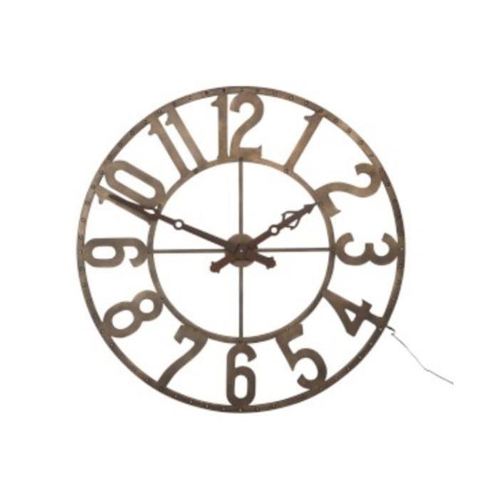 Grande horloge led achat vente horloge cdiscount - Horloge orium led bleue ...