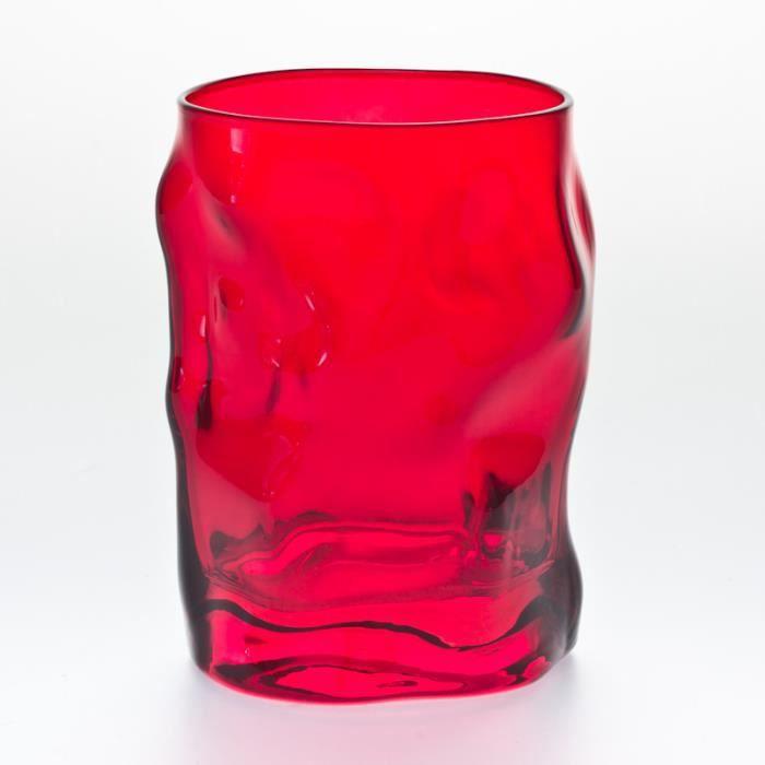 bormioli verre eau 30cl sorgente rouge lot d achat. Black Bedroom Furniture Sets. Home Design Ideas