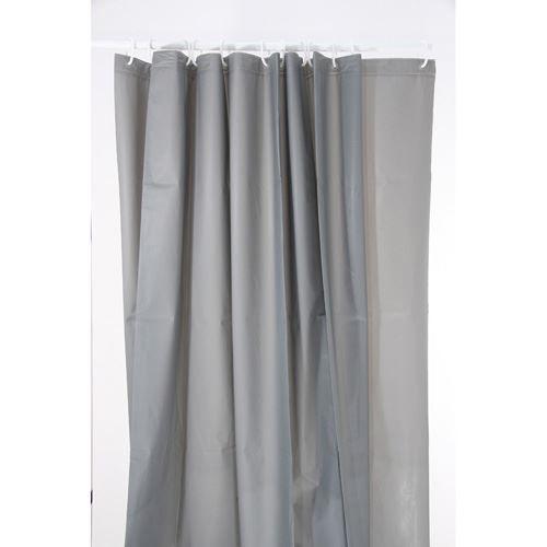 rideau de douche 180 x 200 cm gris achat vente rideau de douche cdiscount. Black Bedroom Furniture Sets. Home Design Ideas