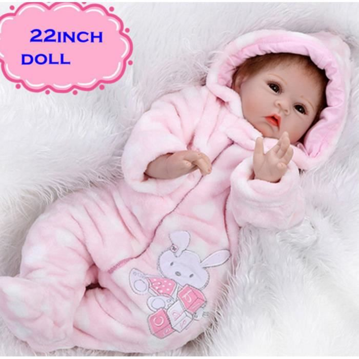 55 cm adorable b b reborn jouets achat vente peluche. Black Bedroom Furniture Sets. Home Design Ideas