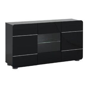 buffet 150 cm achat vente buffet 150 cm pas cher soldes cdiscount. Black Bedroom Furniture Sets. Home Design Ideas
