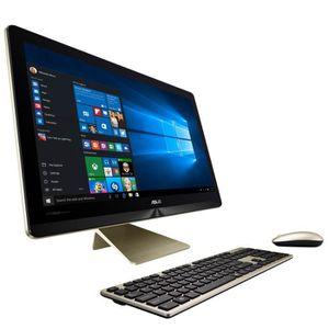 ordinateur tout en un blanc prix pas cher cdiscount. Black Bedroom Furniture Sets. Home Design Ideas
