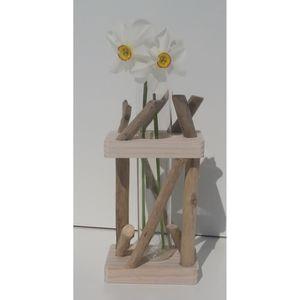Deco bois flotte achat vente deco bois flotte pas cher for Vase bois flotte