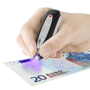 DÉTECTEUR FAUX BILLETS Détecteur de Faux Billets Banknote Check.