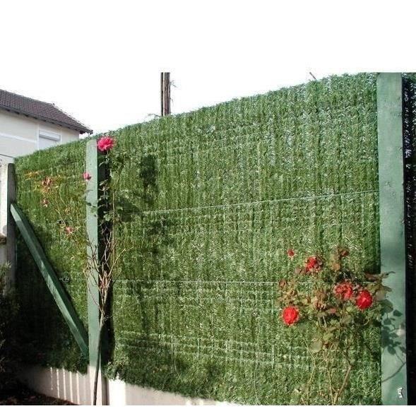 Haie artificielle permanente en brins 180x152mm achat - Haie de jardin artificielle ...