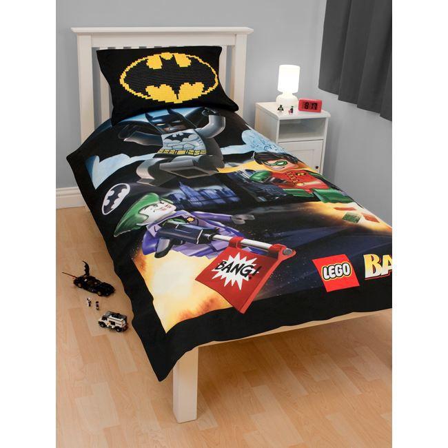 Batman marvel parure housse de couette lego achat - Housse de couette avengers ...