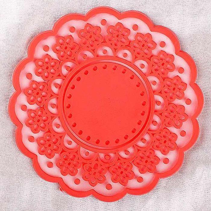 Lace coaster silicone diff rent choix de couleurs caoutchouc soir e achat vente moule for Choix de couleurs
