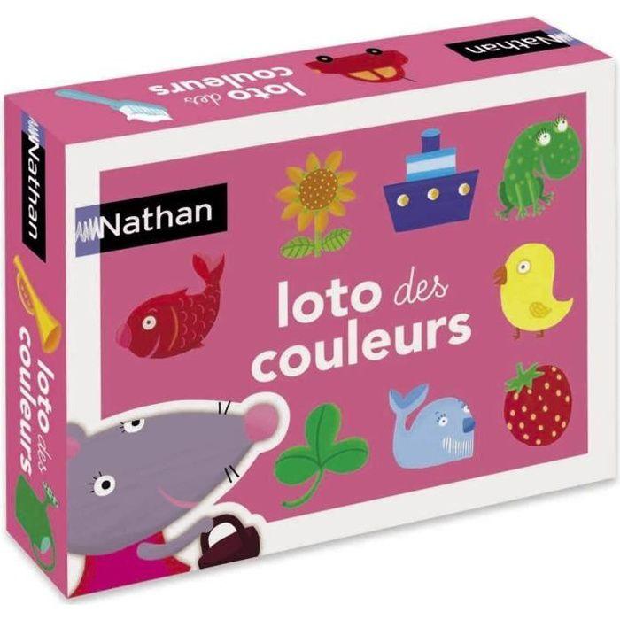 loto des couleurs achat vente loto bingo cdiscount. Black Bedroom Furniture Sets. Home Design Ideas