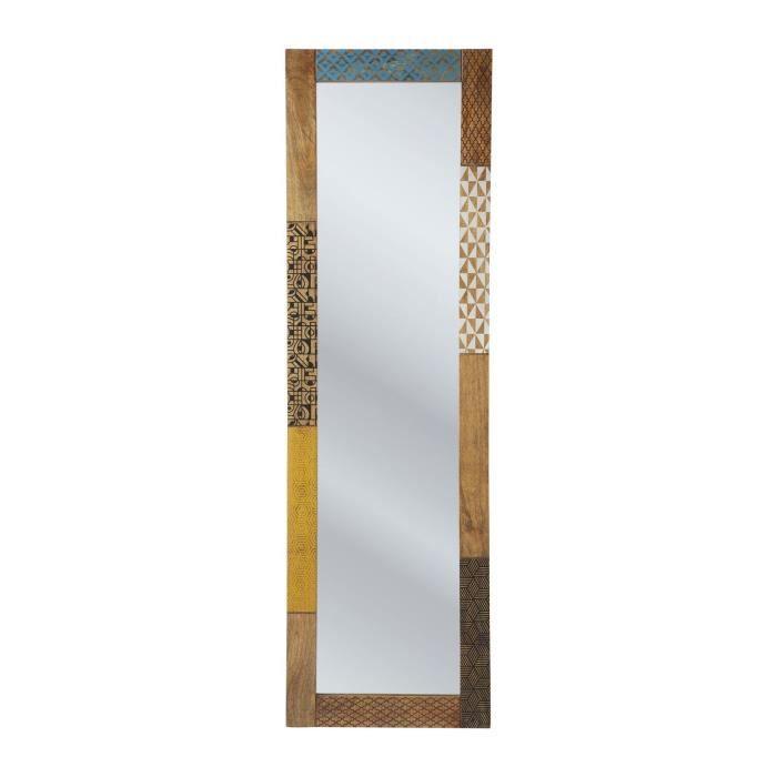 Miroir soleil 180x55cm kare design achat vente miroir for Miroir design soleil