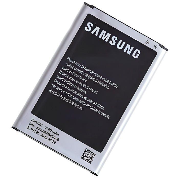 batterie d 39 origine samsung galaxy note 3 b800bc batterie t l phone avis et prix pas cher. Black Bedroom Furniture Sets. Home Design Ideas