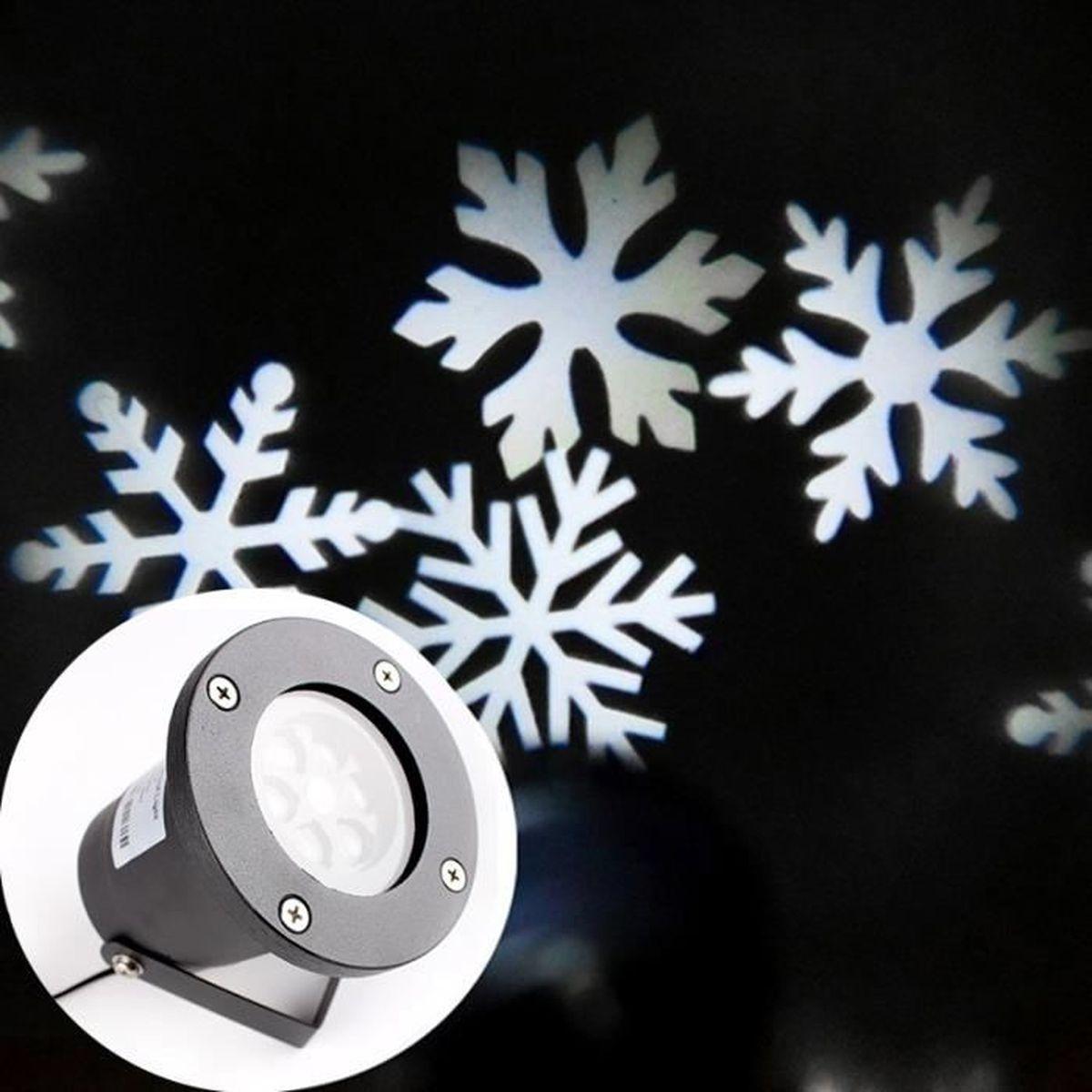 #39495F Hicollie® Mini Projecteur RGB Limière Laser Neige Noël  6437 décoration noel laser 1200x1200 px @ aertt.com