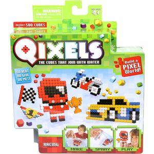 Mini kit 4 créations Qixels (Théme Racing)