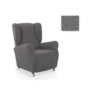 Canape et fauteuil noir et blanc achat vente canape et fauteuil noir et blanc pas cher for Housse fauteuil une place