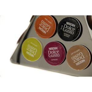 Porte capsule dolce gusto pyramide rotatif achat vente distributeur capsules cdiscount - Porte capsules dolce gusto ...