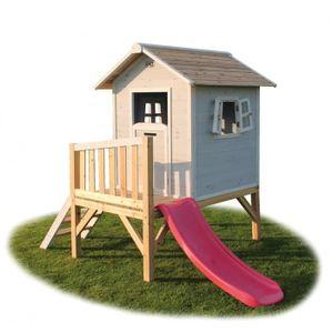 Chalet en bois pour enfant achat vente jeux et jouets pas chers - Chalet enfant ...