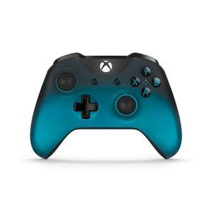 MANETTE CONSOLE Manette Xbox Sans Fil Ocean Shadow