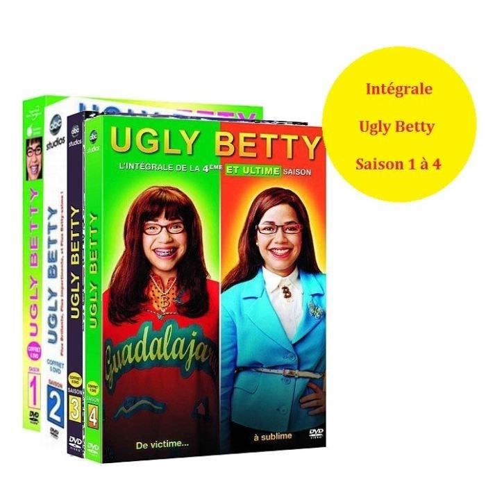 dvd series tv integrale ugly betty s a f