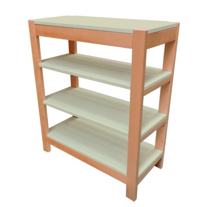 etag re hauteur 110cm berlin moka achat vente meuble tag re etag re hauteur 110cm berl. Black Bedroom Furniture Sets. Home Design Ideas