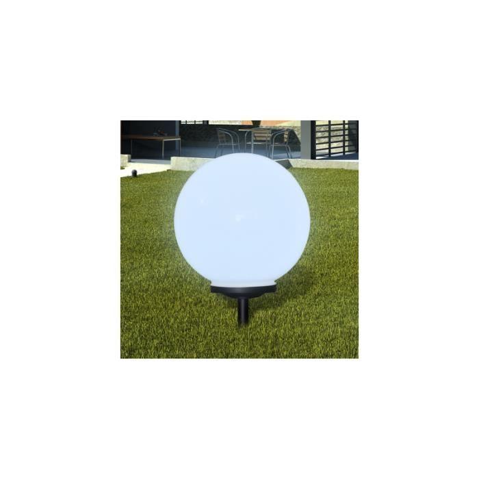 Boule solaire ext rieure 40cm achat vente boule solaire ext rieure 40cm cdiscount - Eclairage exterieur solaire boule ...