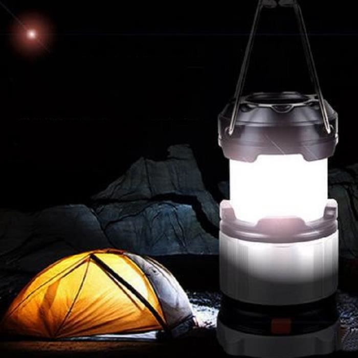 185 lumens lampe camping portable extensible ext rieure lanterne rechargeable d 39 urgence led - Lampe camping rechargeable ...